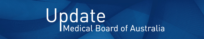 Update Medical Board of Australia